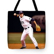 Evan Longoria Tote Bag