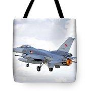 F16 Fighting Falcon Tote Bag