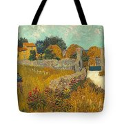 Farmhouse In Provence Tote Bag