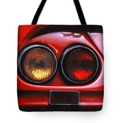 Ferrari Red Tote Bag