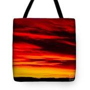 Fiery Furnace Sunset Tote Bag
