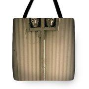 Film Noir Sidney Greenstreet   Mask Of Demetrious 1944 Sid Bruce's Sculptures Black Canyon Az 1991 Tote Bag