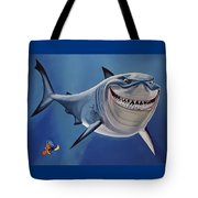 Finding Nemo Painting Tote Bag