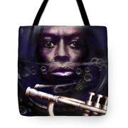 Fish Bowl Of Miles  Tote Bag