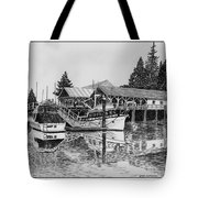 Net Shed Gig Harbor Tote Bag