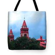 Flagler College St Augustine Fl Tote Bag