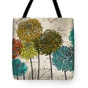Floral Delight I Tote Bag