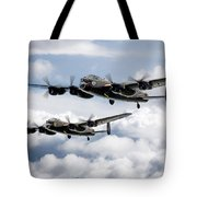 Flying Lancasters Tote Bag