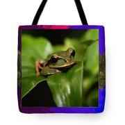 Frog Hideous Green Amphibian Tote Bag