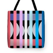 Fun Geometric  Tote Bag