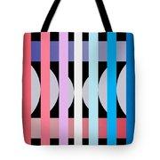 Fun Geometric  Tote Bag
