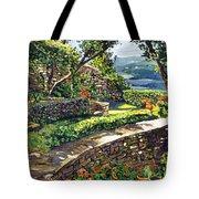 Garden Stairway Tote Bag by David Lloyd Glover
