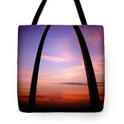 Gateway Arch Sunrise Tote Bag