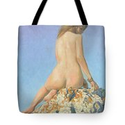 Girl And Sky 2012 Tote Bag