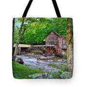 Glade Creek Gristmill Tote Bag
