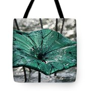 Glass Lily Pad  Tote Bag