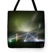 Golden Gate At Fifty Tote Bag