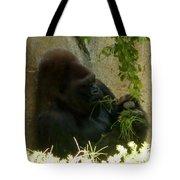 Gorilla Snacking Tote Bag