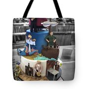 Grand National Wedding Cake Competition 741 Tote Bag
