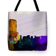 Grand Rapids City Skyline Tote Bag