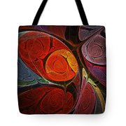 Hypnotic Flower Tote Bag by Anastasiya Malakhova