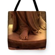 In Him I Believe Tote Bag
