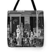 In Praise Of Everything Bw Tote Bag