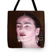 In The Eyes Of Beauty - Frida Tote Bag