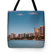 Indian Creek Canal Millionaires Row Tote Bag