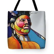Indian Portrait Tote Bag