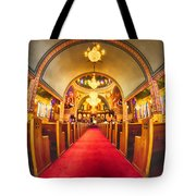 Interior Of  Holy Trinity Gre Tote Bag