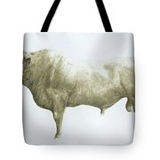 Islay Bull Tote Bag by Lincoln Seligman