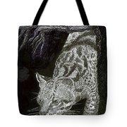 Jaguar Or Jacaranda  Tote Bag