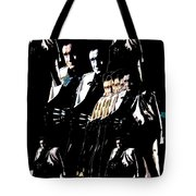 Johnny Cash Multiplied  Tote Bag
