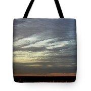 Kansas Prairie Grass Sunrise Tote Bag