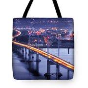Kessock Bridge Inverness Tote Bag