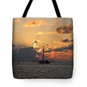Marelous Key West Sunset Tote Bag