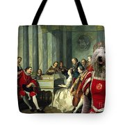 Komondor Art Canvas Print - Sextet Tote Bag