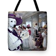 Kuvasz Art Canvas Print Tote Bag