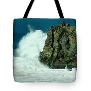 Lady Of Mugu Rock 1  Tote Bag