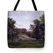 Landscape Near The Monastery Piedra. Aragon Tote Bag
