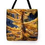 Larch Tree Closeup Tote Bag