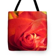 Layers In Red Tote Bag