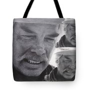 Lee Marvin Monte Walsh Variation #3 Collage Old Tucson Arizona 1969-2012 Tote Bag