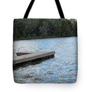 Left Boat Dock Tote Bag