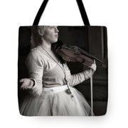 Lila Angelique In The Angel Tunnel Tote Bag