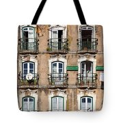 Lisbon - 18th Century Facade  Tote Bag