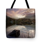 Llyn Ogwen Sunset Tote Bag
