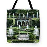 Longwood Gardens Fountains Tote Bag