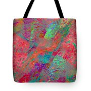 Magenta Poppy Rock Tote Bag